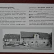 Altes Turnerzeichen in der alten Gaststätte Becker